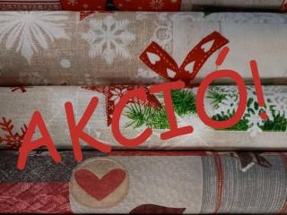 Karácsonyi mintás vásznak