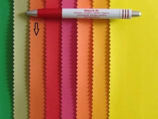 Narancssárga, egyszínű textilbőr (2517)