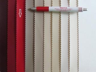 Élénk piros, egyszínű textilbőr (2517-3)