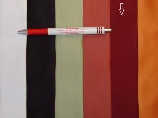 1,5 m széles egyszínű bordó szatén dekor függöny (2602)