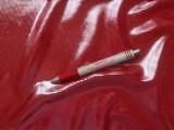 Fürdőruha anyag, fényes, piros (2612)