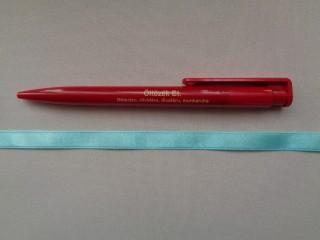 1 cm széles szatén szalag, türkiz (2674)