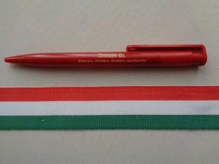 3 cm széles nemzeti színű szalag (2681)