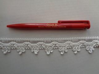 4 cm széles, ekrü függönypaszomány (2695)