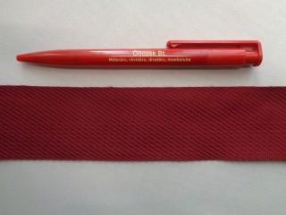 4,5 cm széles, bordó színű szőnyegszegő szalag (2700)