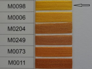 Moon cérna, sárga, 1000 y, 120-as vastagságú nagyker áron (2733-098)
