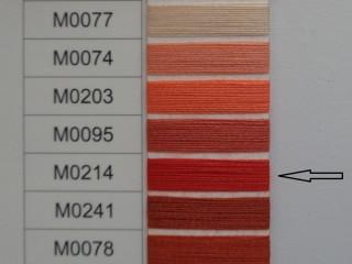 Moon cérna, piros, 1000y, 120-as vastagságú nagyker áron (2733-214)