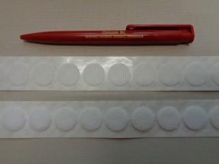 Velcro folt tépőzár, fehér színben (2783)