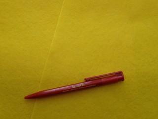 Citromsárga filc lap (2502-2)