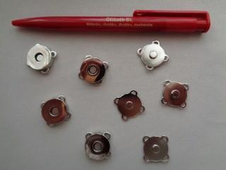 Varrható, mágneses, ezüst csat (2795-1)