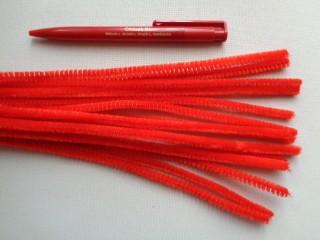 Zsenília drót, piros (2787-2)