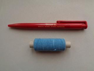 Gumi cérna, kék (2719-2)