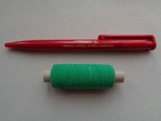 Gumi cérna, zöld (2719-6)