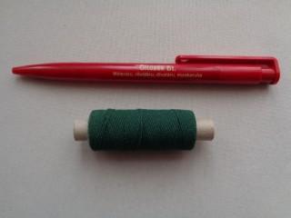 Gumi cérna, s. zöld (2719-7)