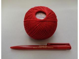 Honleány horgolócérna, piros, 5 dkg (2720-2)