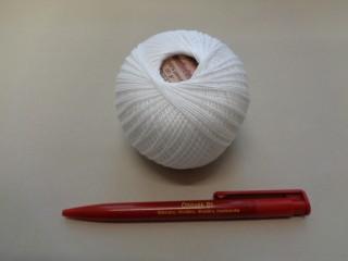 Honleány horgolócérna, fehér, 5 dkg (2720-9)