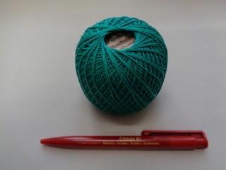 Honleány horgolócérna, zöld, 5 dkg (2720-11)