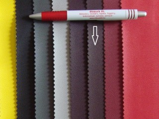 Közép padlizsán, egyszínű textilbőr (2517-10)