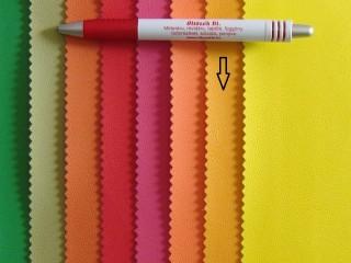 Okkersárga, egyszínű textilbőr (2517-16)