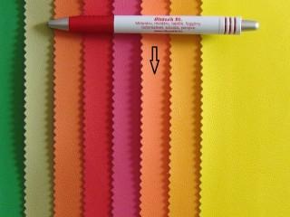 Világos narancssárga, egyszínű textilbőr (2517-17)