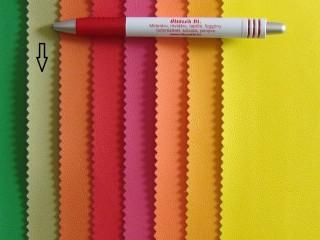 Közép zöld, egyszínű textilbőr (2517-20)