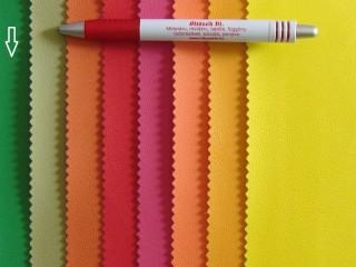 Élénk zöld, egyszínű textilbőr (2517-21)