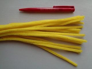 Zsenília drót, sárga (2787-9)