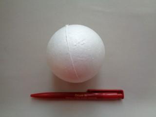 Hungarocell gömb, 8 cm átmérőjű (2818-2)
