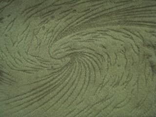 1,4 m széles egyszínű nyomott velúr bútorszövet, zöldes (2540-5)