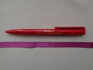 1 cm széles szatén szalag, viola lila (2674-12)