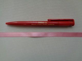 1 cm széles szatén szalag, közép mályva (2674-13)