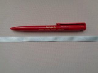 1 cm széles szatén szalag, világoskék (2674-25)