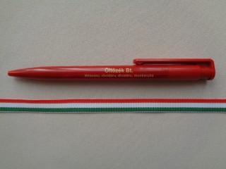 10 mm széles nemzeti színű szalag (2681-5)