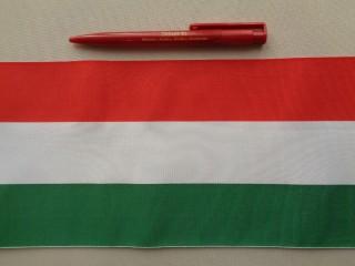 14 cm széles nemzeti színű szalag (2681-6)
