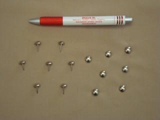Kárpitos dísz szeg, darabos, ezüst színben (2851-1)