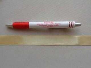 2 cm széles szatén szalag, pezsgő (2852-4)