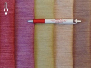 1,5 m széles black out függöny, eper szín, melírozott (2532-6)