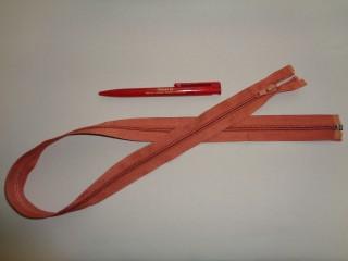 75 cm hosszú spirál fogú (RT-10) zipzár, narancs (2895)