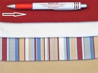 UV álló kültéri vászon, bordó (2958)