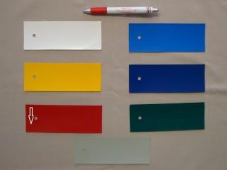 2 oldalon kent matt PVC ponyva, piros (2995)