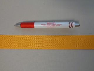 3 cm széles heveder, napsárga (3092)