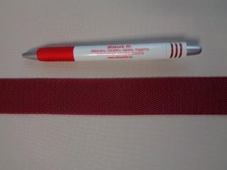 3 cm széles heveder, bordó (3093)