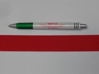3 cm széles heveder, piros (3095)