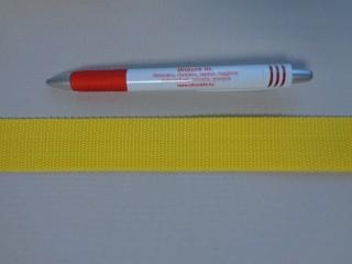 3 cm széles heveder, citrom (3096)