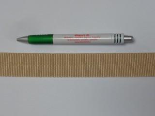 3 cm széles heveder, bézs (3098)