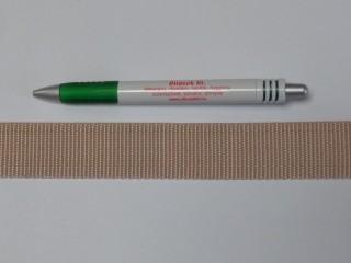 3 cm széles heveder, drapp (3101)