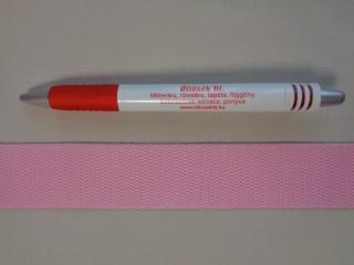 3 cm széles heveder, rózsaszín (3102)