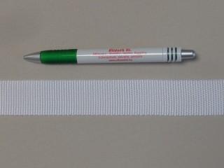 3 cm széles heveder, fehér (3105)