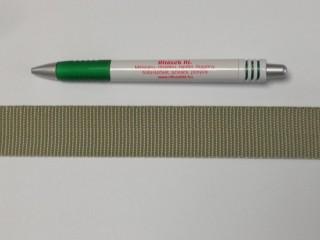3 cm széles heveder, világos keki (3107)