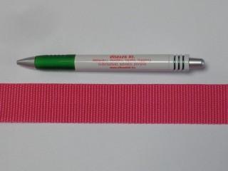 3 cm széles heveder, pink (3108)